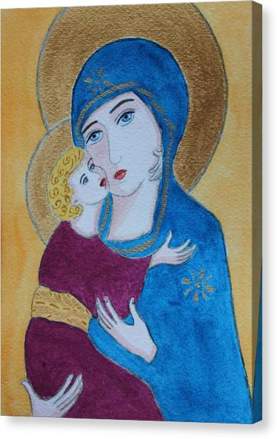 Russian Madonna Canvas Print