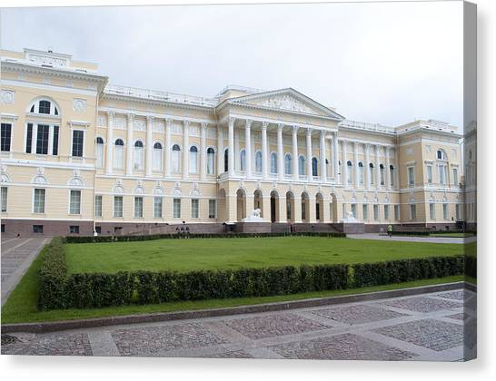 Russian Museum C289 Canvas Print by Charles  Ridgway