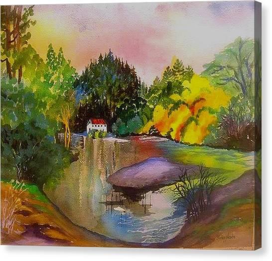 Russian River Dream Canvas Print
