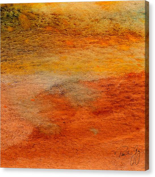 Rust And Sand 2 Canvas Print