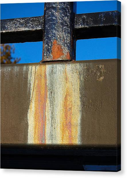 Rust Canvas Print by Heather S Huston