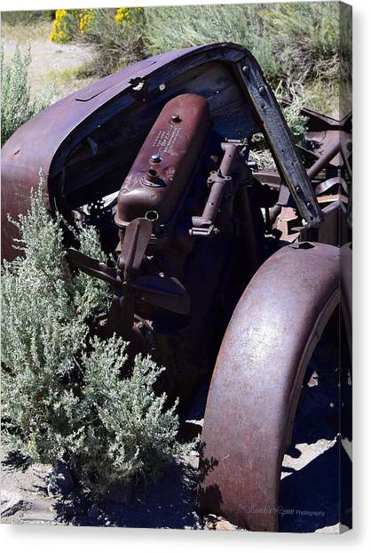 Rust In The Dust Canvas Print