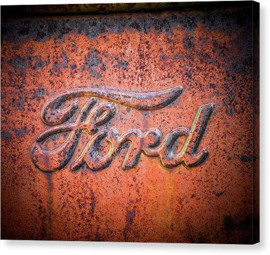 Rust Never Sleeps - Ford Canvas Print