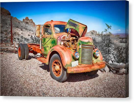 Rusted Classics - The International Canvas Print
