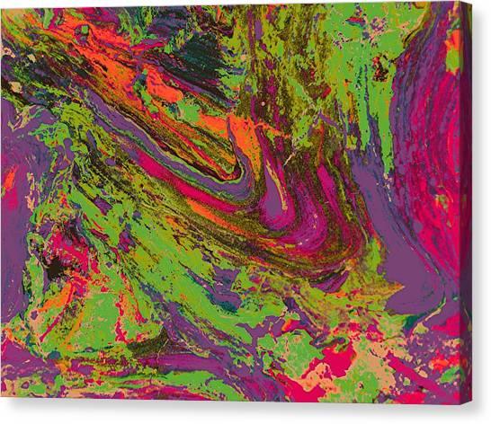 Rusted Metal  1 Canvas Print by Teo Santa