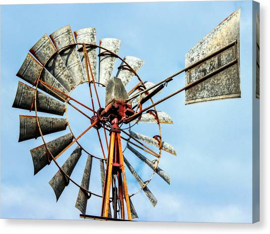 S And L Windmill Canvas Print