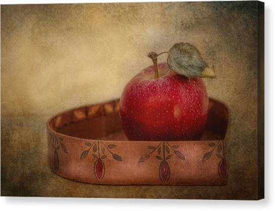 Rustic Apple Canvas Print