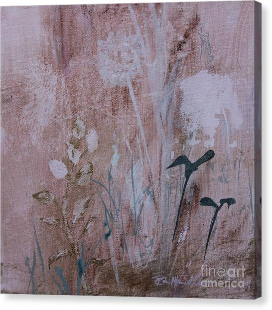 Canvas Print featuring the painting Rustic Breeze by Robin Maria Pedrero