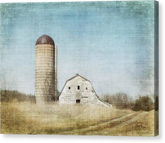 Rustic Dairy Barn Canvas Print