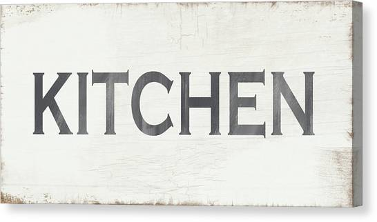 Farmhouse Canvas Print - Rustic Kitchen Sign- Art By Linda Woods by Linda Woods