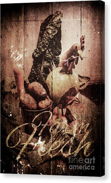 Medicine Canvas Print - Rustic Kitchen Tin Sign by Jorgo Photography - Wall Art Gallery
