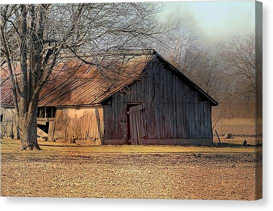 Rustic Midwest Barn Canvas Print