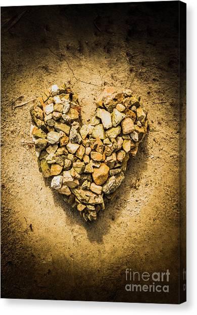 Geology Canvas Print - Rustic Rock Romance by Jorgo Photography - Wall Art Gallery
