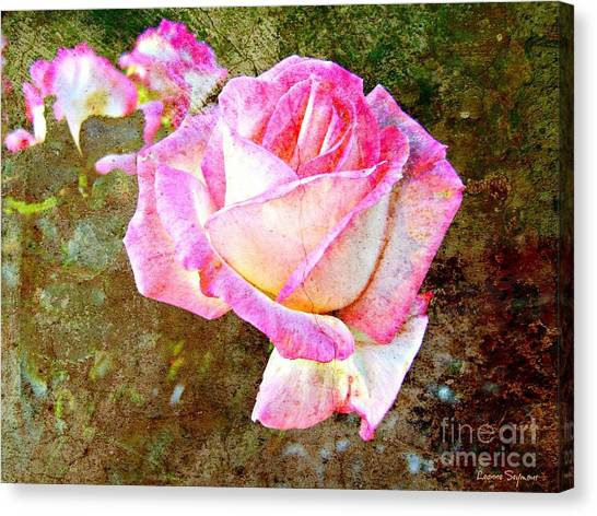 Rustic Rose Canvas Print
