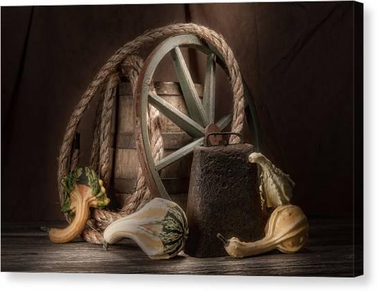 Wagon Canvas Print - Rustic Still Life by Tom Mc Nemar