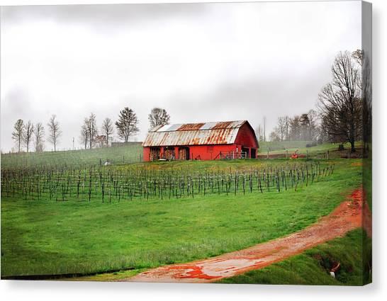 Rustic Wine Canvas Print