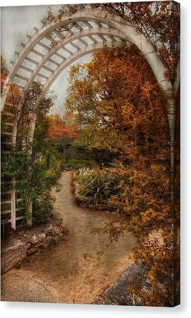Rusting Garden Canvas Print