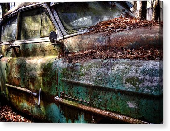 Rusty Cadillac Canvas Print