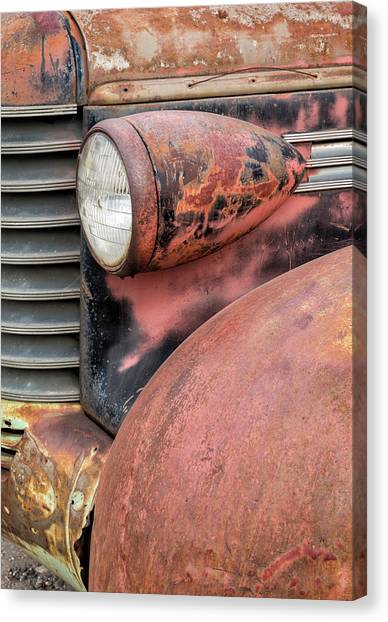 Canvas Print featuring the photograph Rusty Classic by Denise Bush
