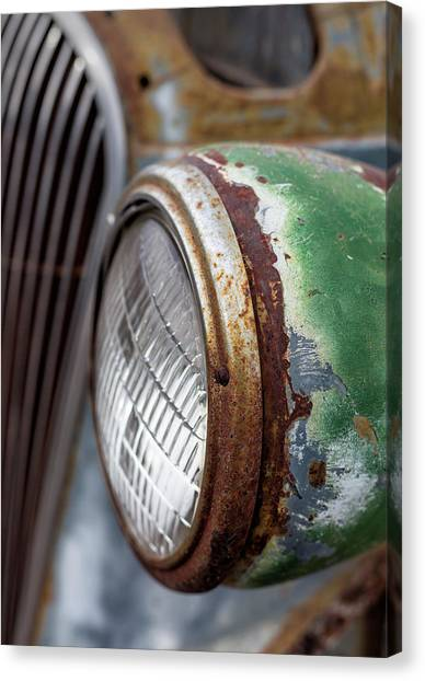 Canvas Print featuring the photograph Rusty Detail by Denise Bush