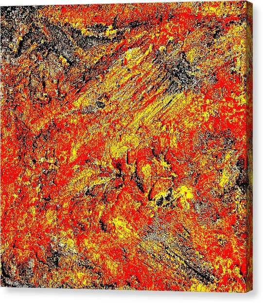 Rusty Euphoria Canvas Print
