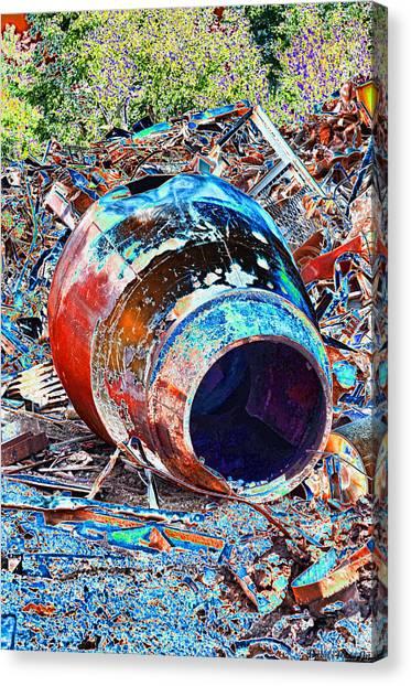 Rusty Metal Stuff II Canvas Print