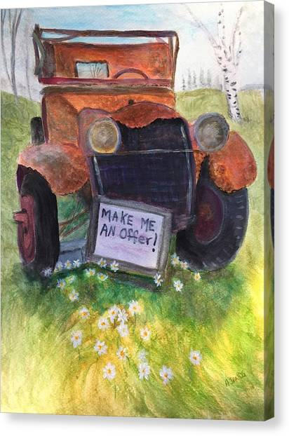 Rusty Old Relic Canvas Print