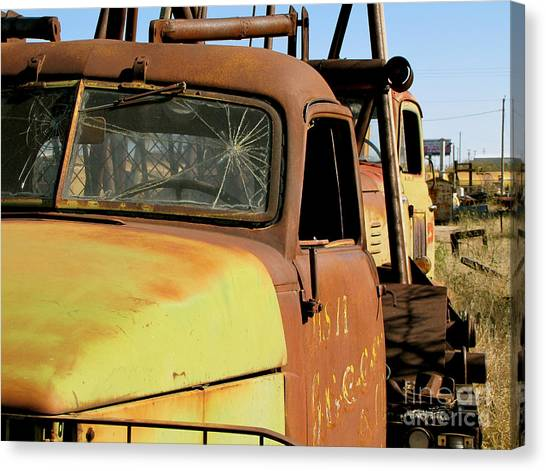 Rusty Tow Canvas Print by Slade Roberts