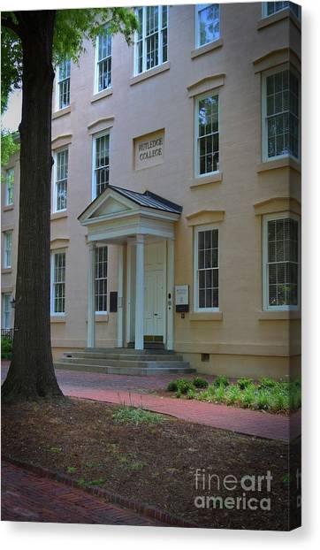 University Of South Carolina Canvas Print - Rutledge College At South Carolina by Skip Willits