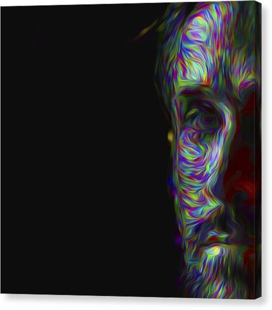Hollywood Canvas Print - #ryangosling #gosling #male #actress by David Haskett II