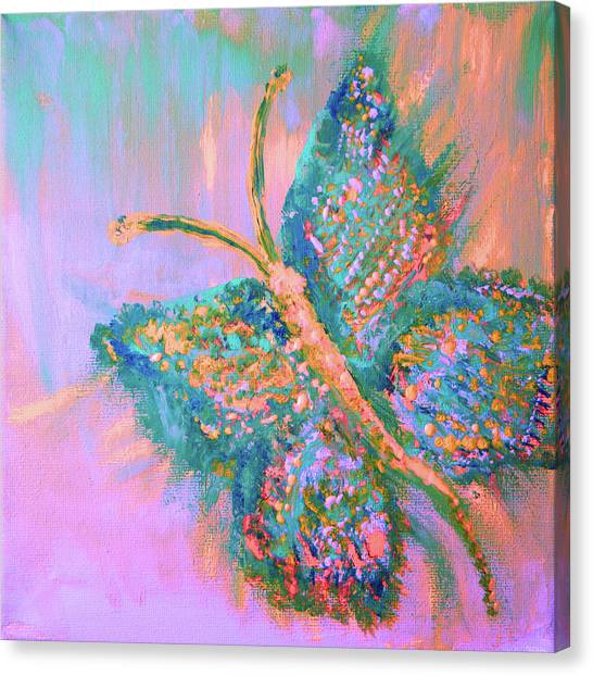 Ryans Butterfly Canvas Print