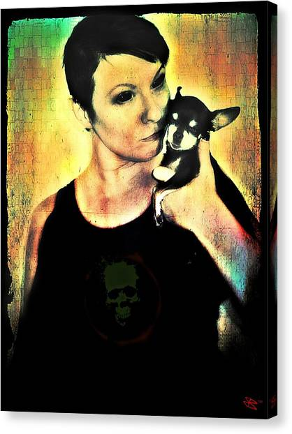 Ryli And Chi-chi 1 Canvas Print