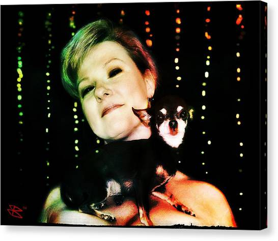 Ryli And Chi-chi 2 Canvas Print