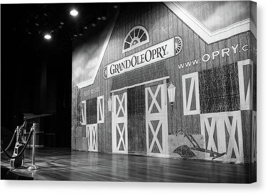 Ryman Opry Stage Canvas Print