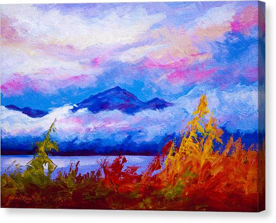 Alaska Canvas Print - Rythmn Of The Arctic by Marion Rose
