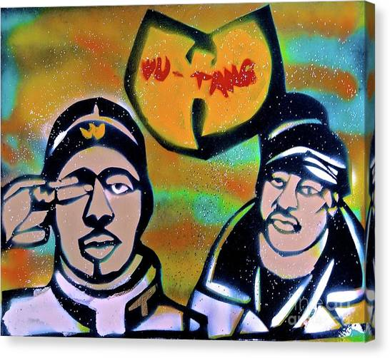 Wu Tang Canvas Print - Rza And Ghostface by Tony B Conscious