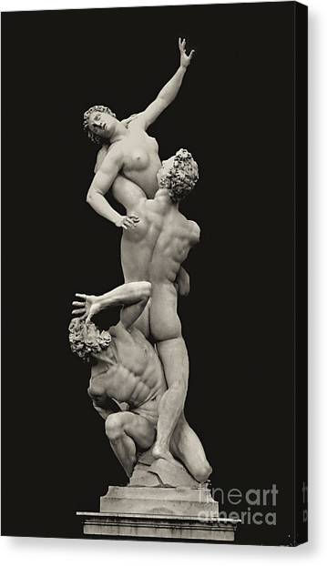 S 42 Rape Of The Sabine, Florence Canvas Print by Norberto Torriente