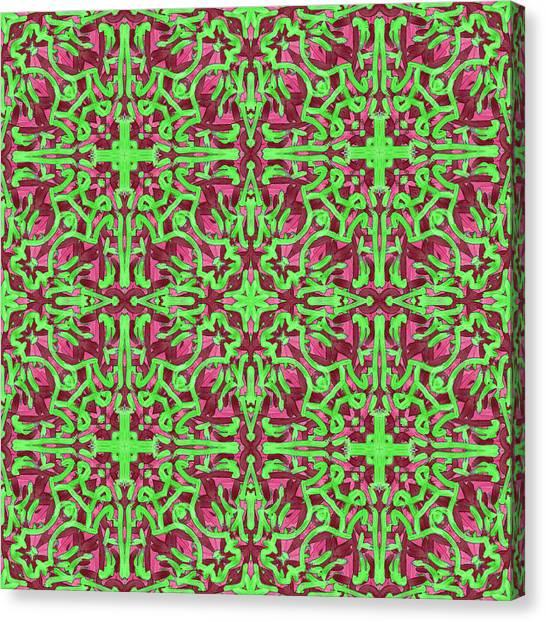S A T - Multi Pattern Canvas Print