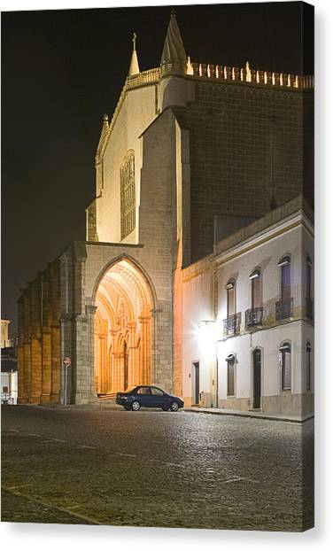 S. Francisco Church Canvas Print by Andre Goncalves