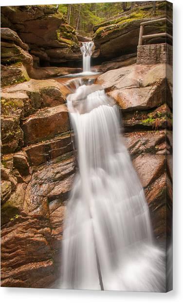 Sabbaday Falls Canvas Print