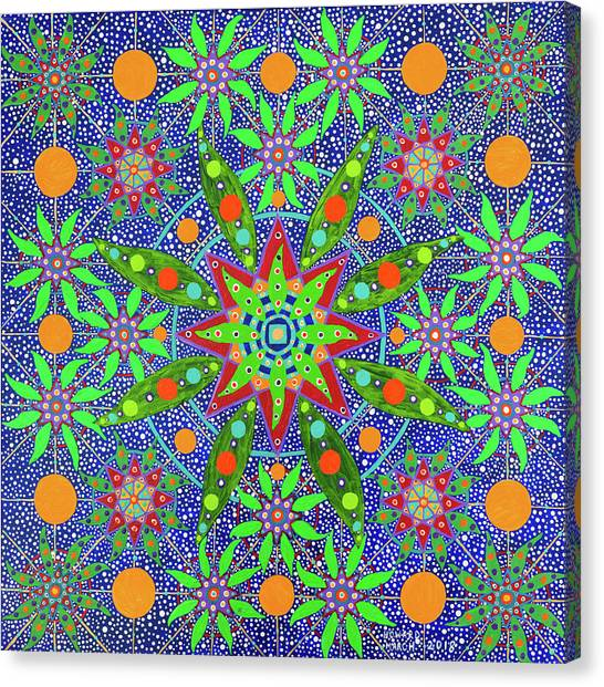 Sabiduria De Las Plantas Canvas Print