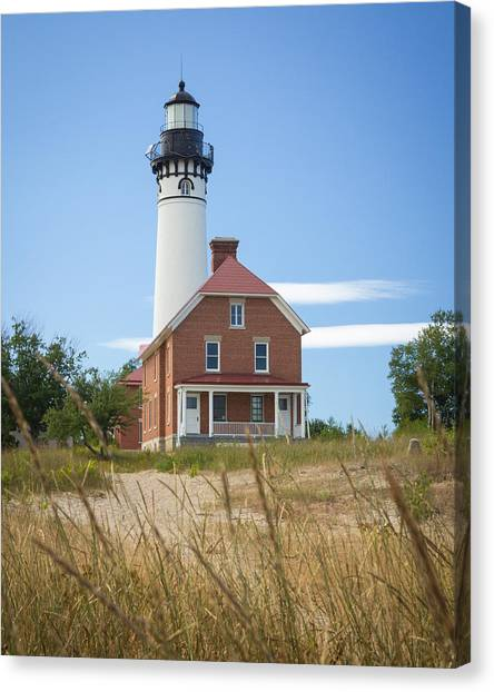 Sable Point Lighthouse Canvas Print