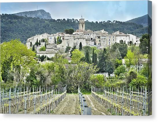 Sablet, Provence, France Canvas Print