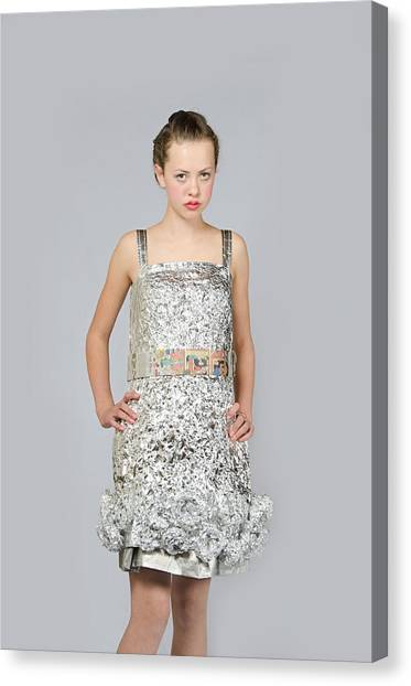 Nicoya In Dress Secondary Fashion 2 Canvas Print