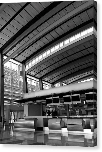 Sacramento Airport Canvas Print