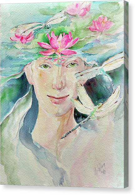 Sacred Awakening Canvas Print
