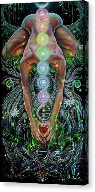Sacred Cycle Canvas Print