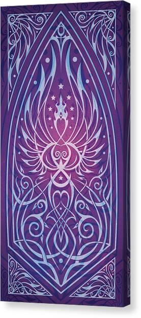 Art Nouveau Canvas Print - Sacred Feminine by Cristina McAllister