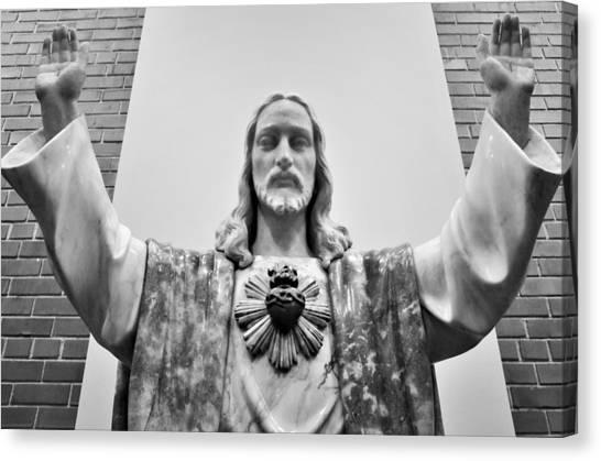 Sacred Heart Of Jesus Canvas Print