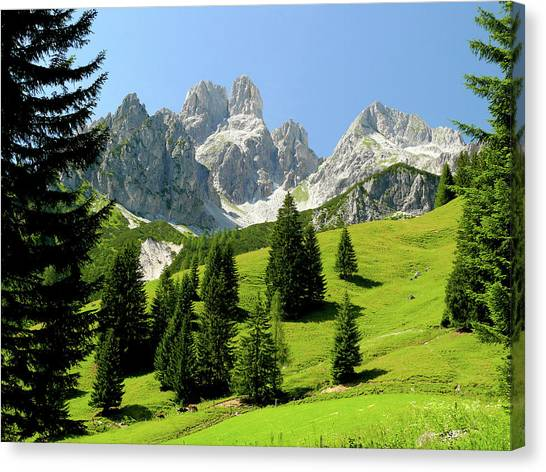 Sacred Land Canvas Print